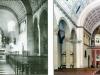 Altarraum damals und heute